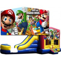 (C) Mario Bros Bounce Slide combo (Wet or Dry)