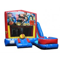 (C) Despicable Me 7n1 Bounce Slide combo (Wet or Dry)