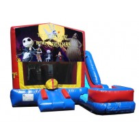 (C) Nightmare Before Christmas 7N1 Bounce Slide combo (Wet or Dry)