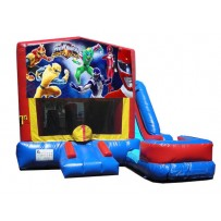 (C) Power Rangers 7N1 Bounce Slide combo (Wet or Dry)
