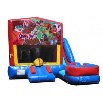 (C) Scooby-Doo 7n1 Bounce Slide combo (Wet or Dry)