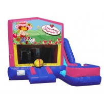 (C) Strawberry Shortcake 7n1 Bounce Slide combo (Wet or Dry)