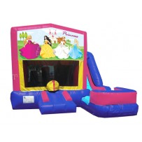 (C) Princess Banner 7n1 Bounce Slide combo (Wet or Dry)