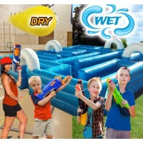 (D) Inflatable Tag Maze - Water or Dry