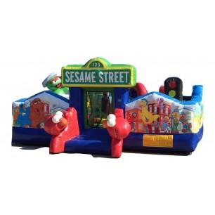 (B) Sesame Street Playground