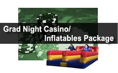 casino nigh grad night rentals